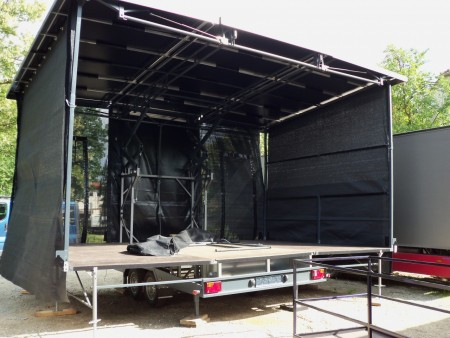 6x4m mobil event stage