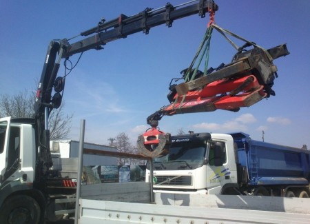 Works requiring truck-mounted boom lifts